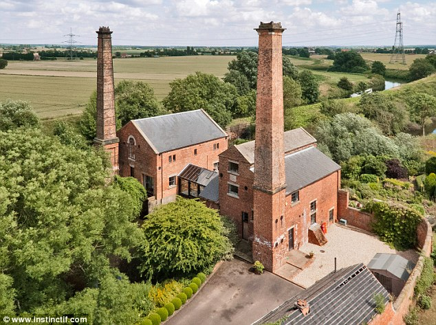 The pump houses in Misterton, Nottinghamshire, were built in 1828 and had a key role in drainage