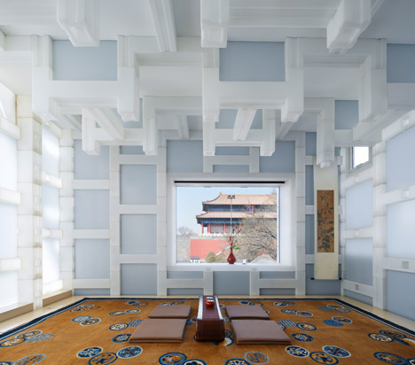Beijing Tea house by Kengo Kuma