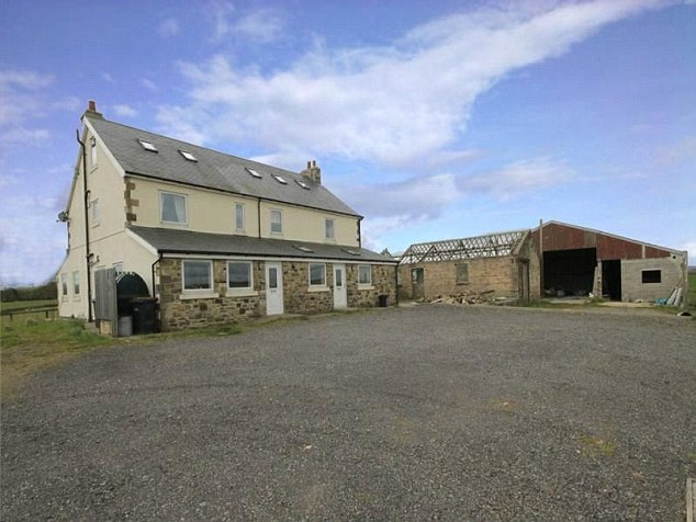 This farmhouse has plenty of eco-potential as it comes with planning permission for a wind turbine