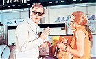 Michael Caine, Maggie Blye  'The Italian Job' film - 1969