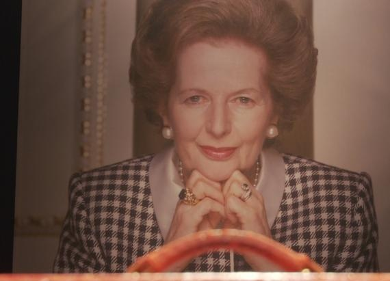 Margaret Thatcher's Wedding Dress and PM Red Box Go on Sale