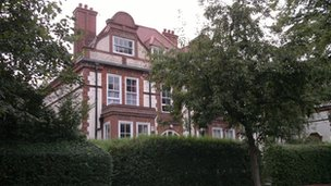 Grade II listed house designed by architect George Gilbert Scott Jr