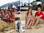 Aimee Maiden, 25, and husband Nick Wheeler, 26, had no idea their paths had crossed until they saw the grainy snap taken in 1994 ¿ 11 years before they first met