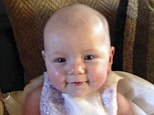 'Tragic accident': Olivia-Leigh Picton, eight months, accidentally hanged herself when she became trapped between the ladder and mattress of her bunk bed