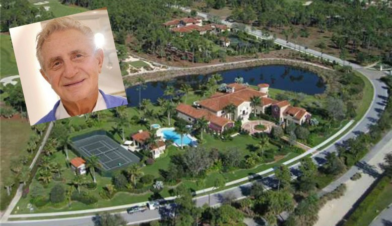 Miami developer Don Soffer is selling his Palm Beach Gardens mansion for $15.5 million (Gossip Extra collage)