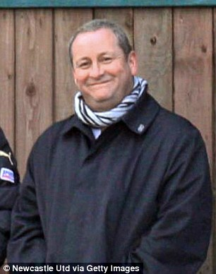 In charge: Sports Direct is listed on the Stock Exchange but is majority owned by Mike Ashley