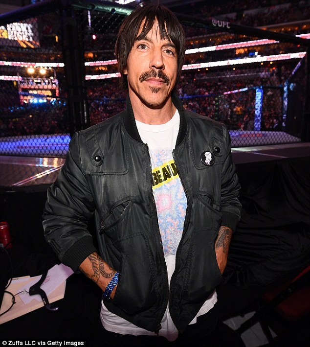 Buy the way: Anthony Kiedis has listed his LA villa for $4.3m, according to real estate site Trulia