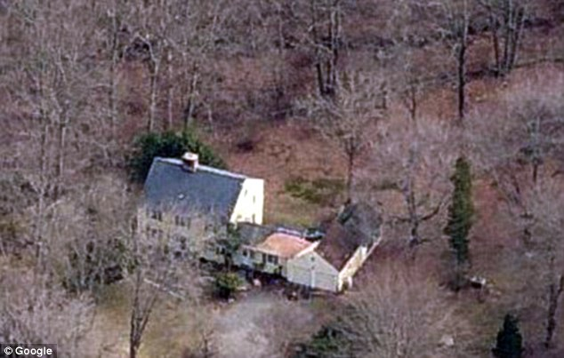 Dig: Police discovered the human remains at 89 Norfield Road in Weston, Connecticut, after getting a tip from the property's owner
