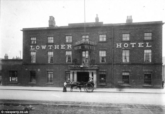 Historic: The Grade II listed hotel was built in 1824 and survived a World War Two bombing raid